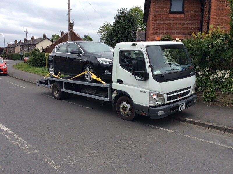 MITSUBISHI CANTER RECOVERY TRUCK 3 LTR TURBO DIESEL 58 PLATE | in Sale,  Manchester | Gumtree