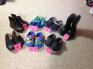 Various Boy Shoes Size 8-9 London Ontario image 1