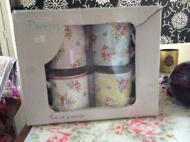 Four new Waitrose mugs
