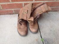 Clarks lady boots