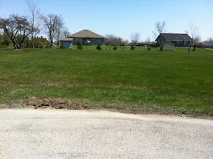 Serviced building lot in Lake Huron subdivision