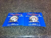 2 New Stainless Steel Refrigerator / Freezer Thermometers