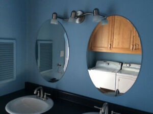 2 miroirs ovale