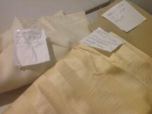 Robert Allen upholstery fabric --light yellow.