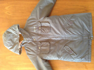 Boys 3 in 1 Winter Coat by Carters- 7X & Boots