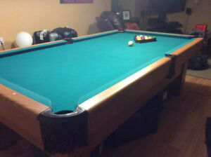 "Pool Table Canadian made 1"" Slate"