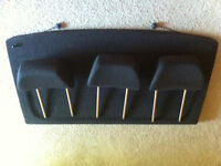 2007 Volkswagon Golf - 3x Seat Head Rests and Trunk Cover