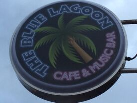 Bar/wait staff required at The Blue Lagoon