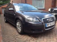 2006 56 Audi A3 1.6 5dr SportBack Special Edition Manual petrol 1 lady owner full service history