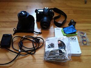 Nikon D90 DSLR camera + lens kit