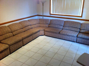 8 pieces sectional couch Windsor Region Ontario image 1