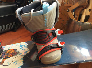 Sasquatch Hunter Snowboard and Airwalk Boots