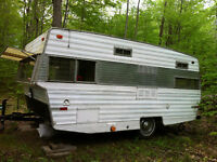 Looking for secluded site for a vintage trailer in Huntsville ON