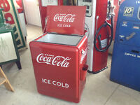 Coke cooler Coke machine not pepsi