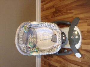 Fisher-Price 4 in 1 Motion Cradle 'n Swing