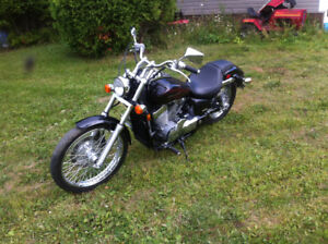 2010 honda shadow spirit with only 8000 km