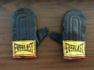 Everlast Boxing Heavy Bag Gloves Mitts Training Gloves