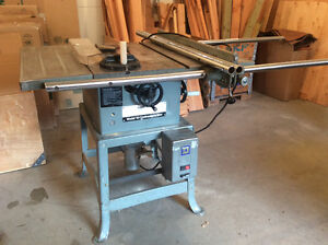"Delta 10"" Contractor Table Saw on Stand"