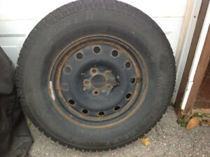 Cooper Discoverer Snow Tires/Rims P225 75 R16 (from Ford Escape)