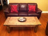 Rustic Coffee Table 100% Real Wood