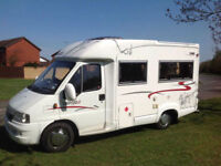 Rapido 709F 2 Berth rear fixed bed motorhome 54 plate 53k from new