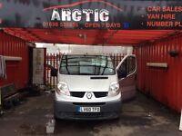 Renault traffic minibus/crew cab ARCTIC VAN SALES