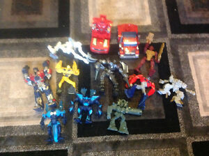 Miscellaneous transormers and action figures