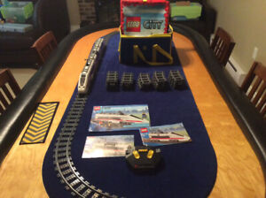 LEGO 7 speed electronic train set