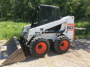 2001 863 BOBCAT SKID STEER W/HEAT