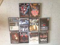 12 Horror DVD Films £5