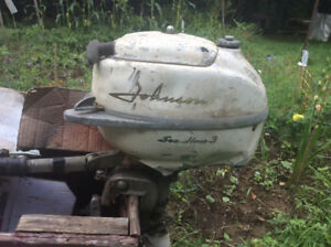 Outboard moter 3HP and 2.5HP Johnson