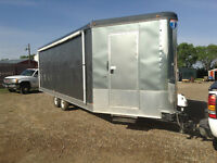 Enclosed Drive ThroughTrailer - side by sides, Sleds, etc