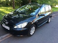 2005 Peugeot 307 2.0 HDI Estate-1 owner-March 2018 mot-service history-great economy