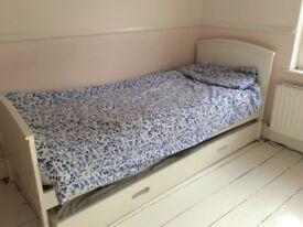 Bed (single children bed with trundle)