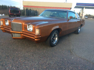 1971 Pontiac Grand Prix XP matching #'s , 400 BB,64 miles trades