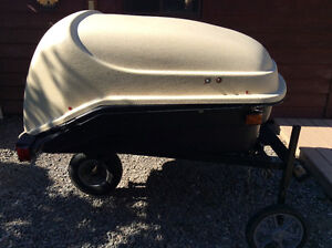 Utility Trailer One Wheeled