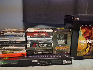 PC Game Lot with Accessories **New Price**