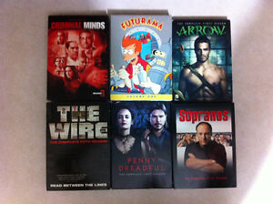 Futurama, The Wire, The Sopranos, Arrow, Penny Dreadful etc.