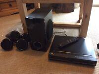 LG DVD Player with 6 Speaker Surround Sound HT356