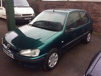1999 Peugeot 106 1.5 Zest diesel-April 2917 not-great economy-great value