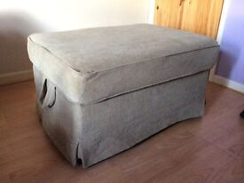 Footstool / Ottoman with storage