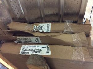 Lot de soffite ventillé brun commercial neuf
