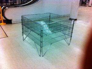 Wire Bins 4x4 for sale