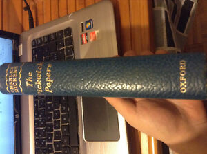 Rare leather bound Oxford -The Pickwick Papers-Charles Dickens