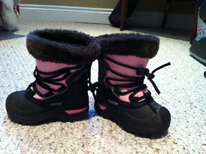 Baffin with OMNI insert girls winter boots size 7