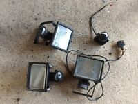 Flood lights PIR