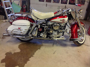 "Prestine 1960 Harley Davidson FLH ""MINT:"""