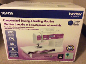 NEW Computerized Quilting n Sewing Machine