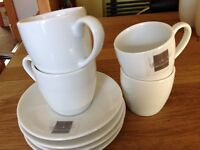 Ben de Lisi Espresso Coffee Cups & Saucers