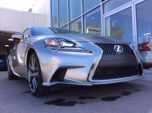 2015 Lexus IS250 AWD F Sport W/ VERY LOW KM'S and Warranty!!